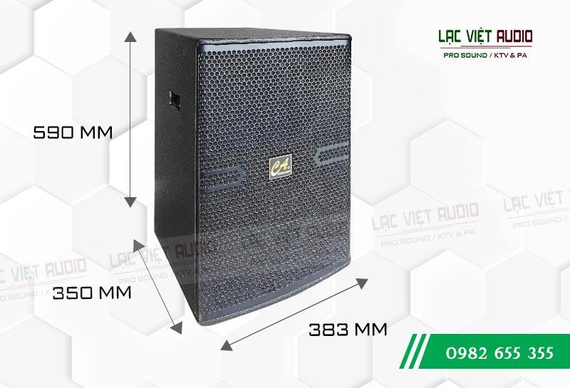 Loa CA Sound F2012 kích thước