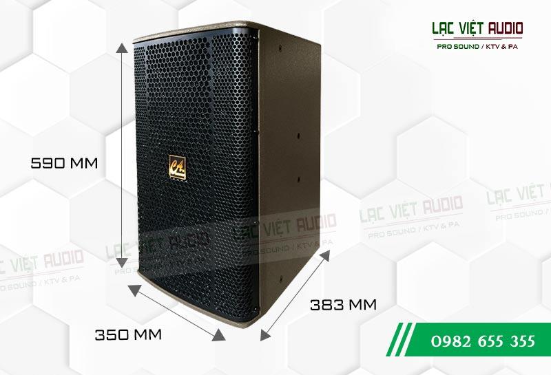 Loa CA Sound F 912 kích thước