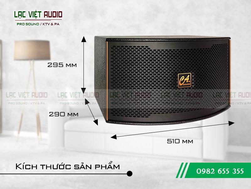 Loa CA Sound K 310 kích thước