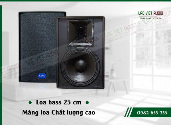 Các đặc điểm nổi bật của thiết bị Loa DMX ES 10