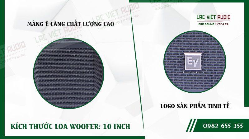 Các đặc điểm nổi bật của sản phẩm Loa EV ELX200 10