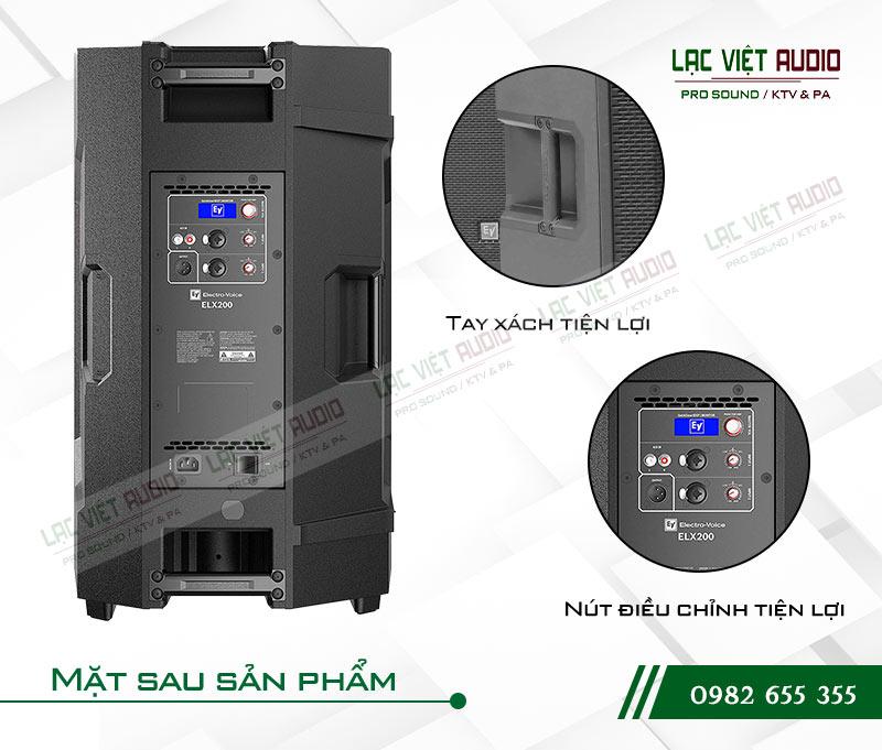 Loa EV ELX200 15P mặt sau