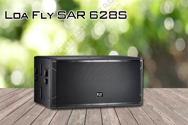 Thiết kế bên ngoài của sản phẩm Loa Fly SAR 628S