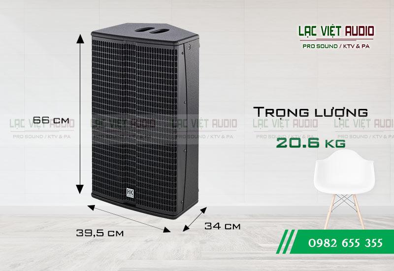Loa HK L3 112 XA kích thước