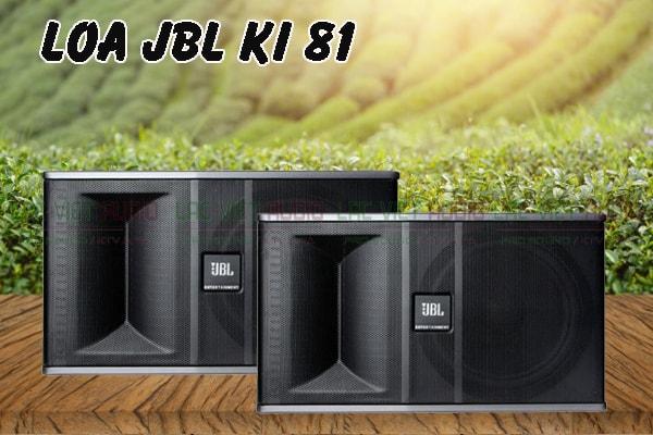 Loa karaoke JBL KI 81 mạnh mẽ
