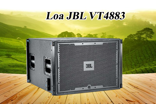 Loa SUB Array JBL VT4883 thiết kế đẹp mắt