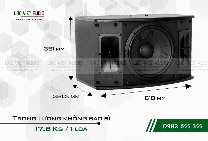 Loa Paramax SAS S500 kích thước