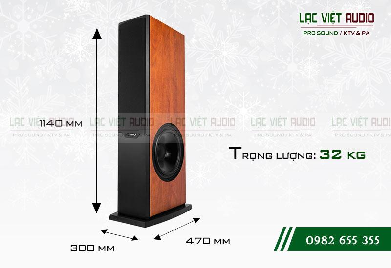 Loa Paramax D2000 thiết kế