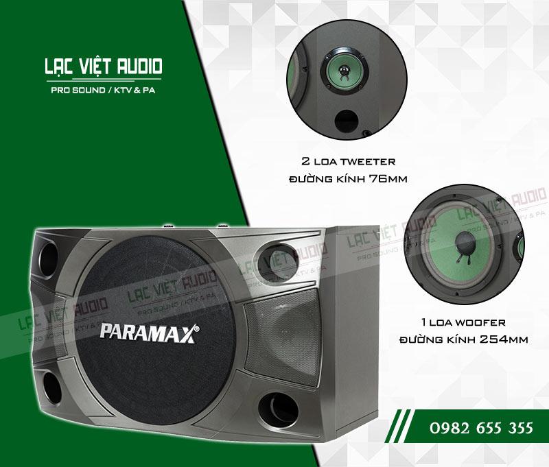Khả năng hoạt động bền bỉ của Loa Paramax P850 NEW có chất âm mạnh mẽ