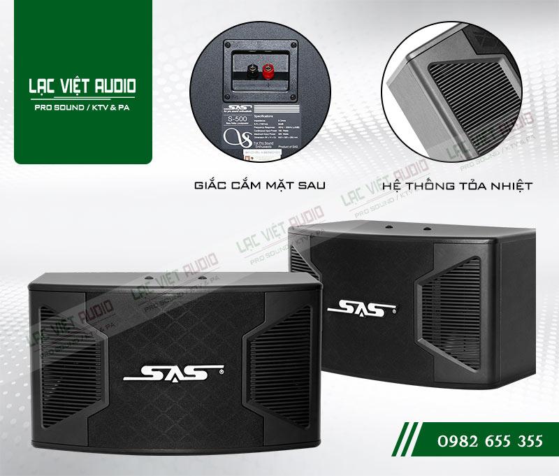 Loa Paramax SAS S500 cấu tạo