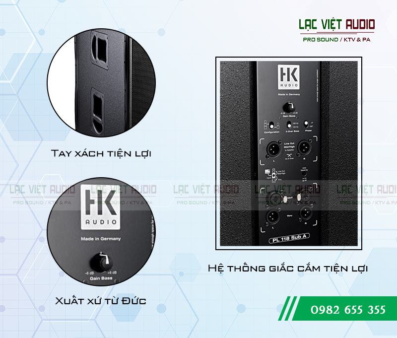 Loa Sub HK PL 118A chính hãng