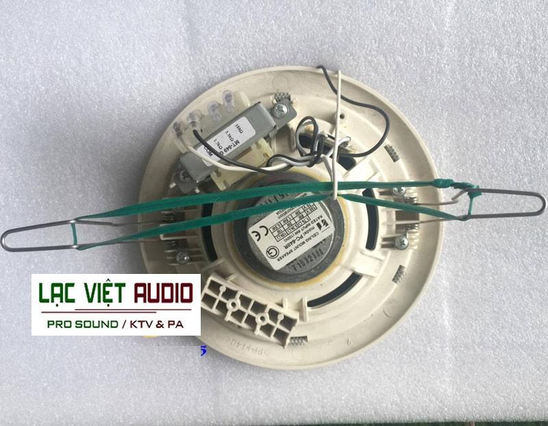 Loa âm trần 6W Toa PC-648R có khả năng tái tạo âm thanh tuyệt vời