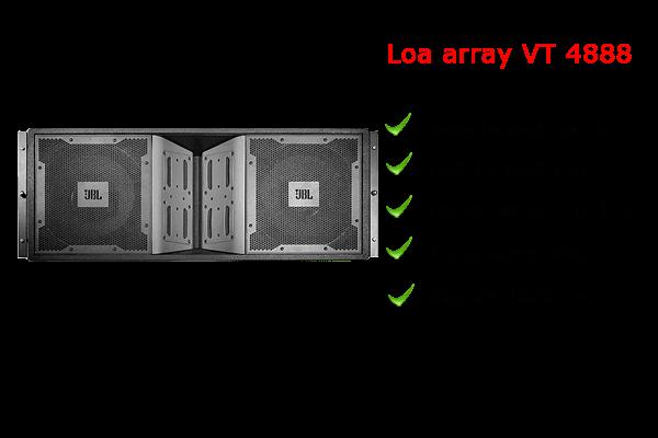 Loa array VT 4888 chất lượng vượt trội