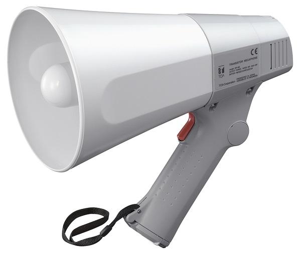 Loa cầm tay TOA ER 520 chắc chắn là sản phẩm đầu tiên được nhắc đến