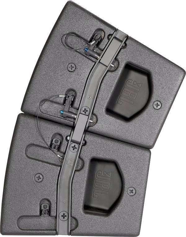 Thanh RAY loa JBL được thiết kế rất chắc chắn và bắt mắt