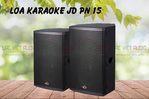 Loa karaoke JD PR15 thiết kế tinh tế