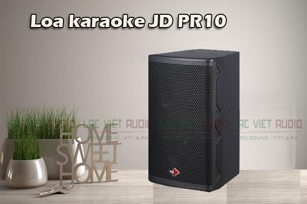 Loa karaoke JD PR10 thiết kế đẹp