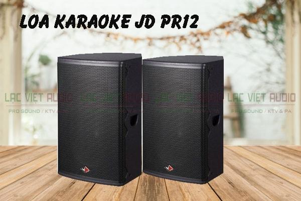 Loa karaoke JD PR12 thiết kế đẹp