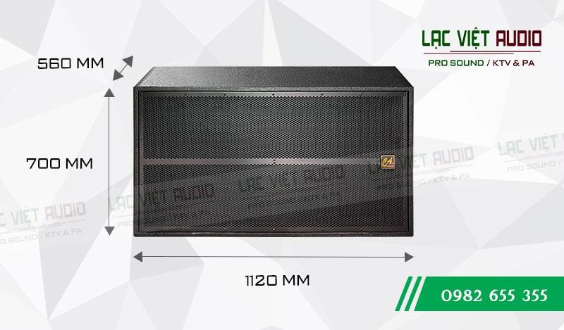Loa Sub CA S 218 kích thước