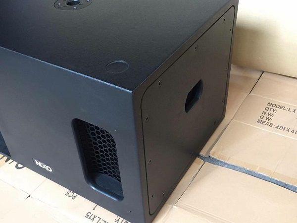 Loa NEXO Ls 1200 phù hợp với các phòng karaoke diện tích lớn
