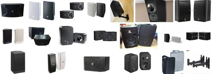 Loa treo tường là lựa chọn cho đại đa số các quán cafe vì giá rẻ mà âm thanh hay