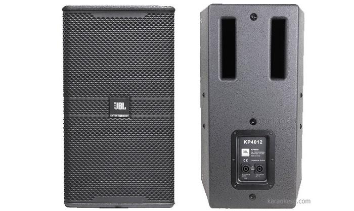 Mặt trước và sau loa JBL KP 4012
