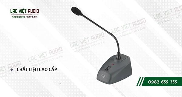 Micro cổ ngỗng JTS được sản xuất trên công nghệ cao, cho chất lượng âm thanh đạt chuẩn