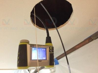 Sử dụng máy đo tín hiệu, chất lượng đường truyền