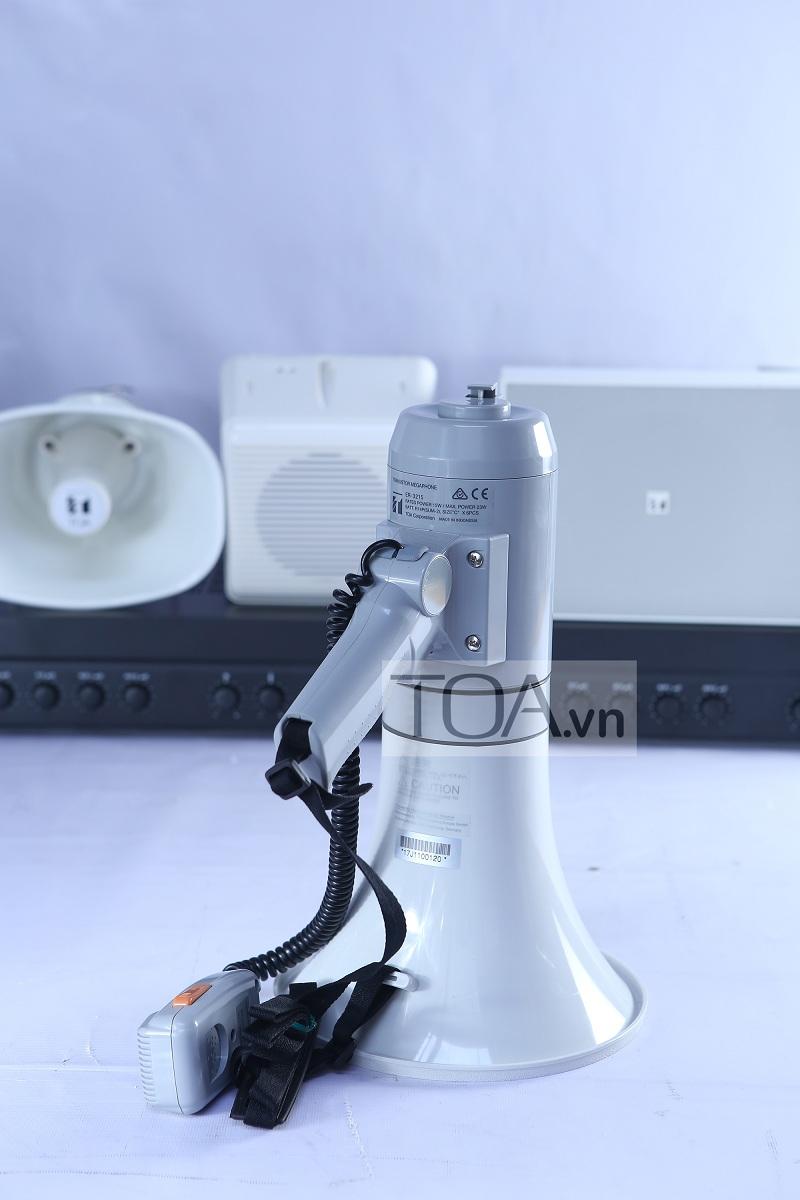Megaphone cầm tay ER 3215 có độ bền cao và micro rời