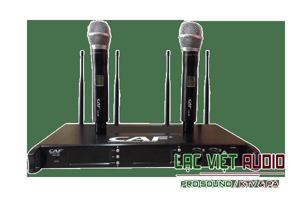 Mua các sản phẩm micro không dây CAF chất lượng cao giá cả ưu đãi tại Lạc Việt Audio