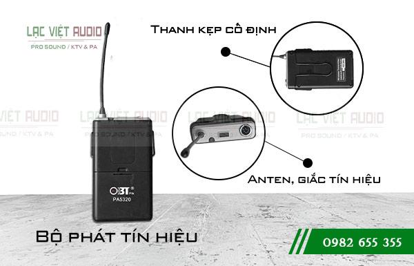 Bộ phát tín hiệu của micro OBT PA 5320