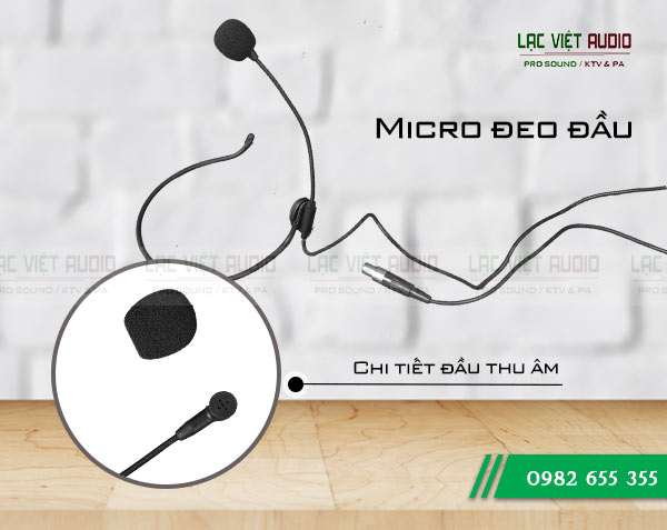 micro OBT PA 5320 với khả năng thu âm cực tốt