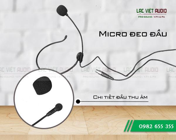 Micro đeo tai OBT có kiểu dáng gọn nhẹ thuận tiện khi sử dụng