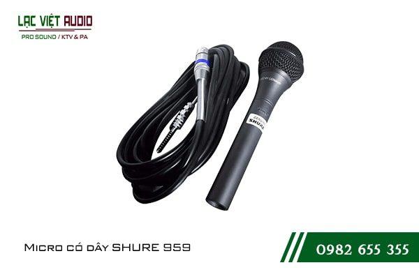 Micro có dây SHURE 959