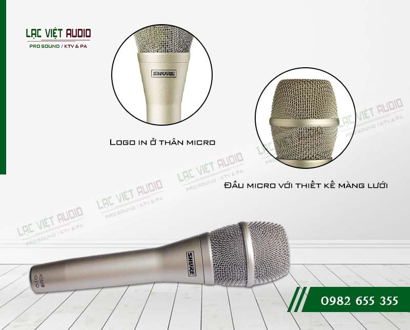 Micro SHURE KSM9 thiết kế
