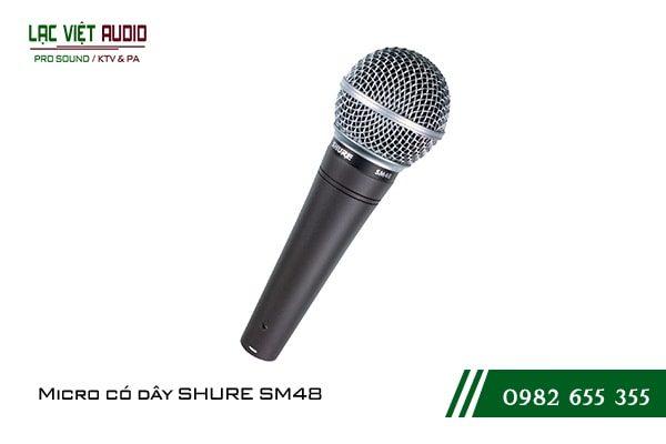 Micro có dây SHURE SM48