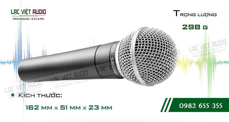 Micro có dây SHURE SM58 chính hãng