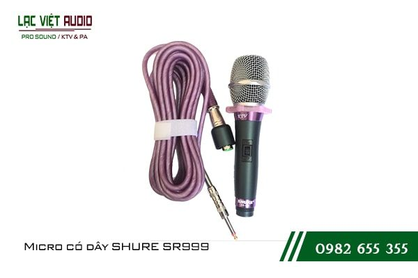 Micro có dây SHURE SR999