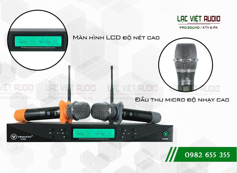 Micro VinaKTV USS-600 thiết kế tinh tế