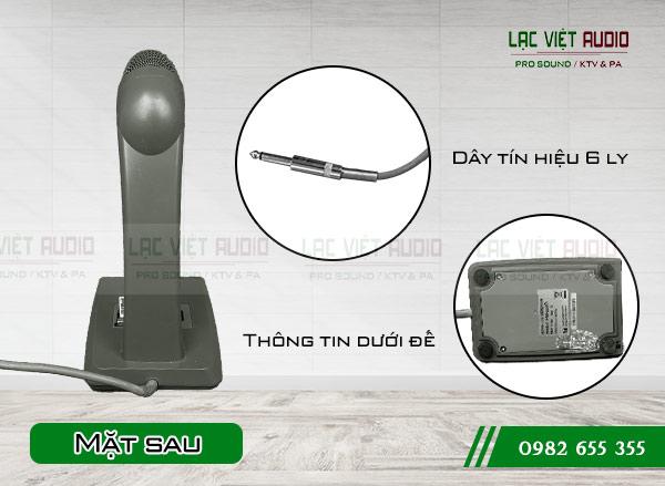 Micro để bàn TOA PM-660D mặt sau