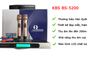 Micro karaoke KBS BS 5200