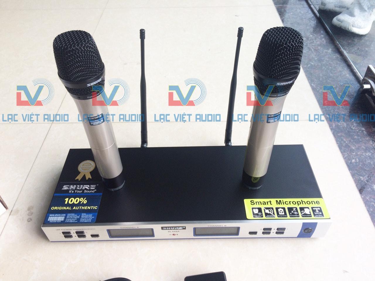Micro karaoke Shure BLX 68A