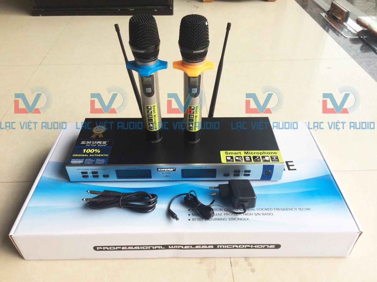Micro karaoke shure BLX 68A mới xuất hiện trên thị trường