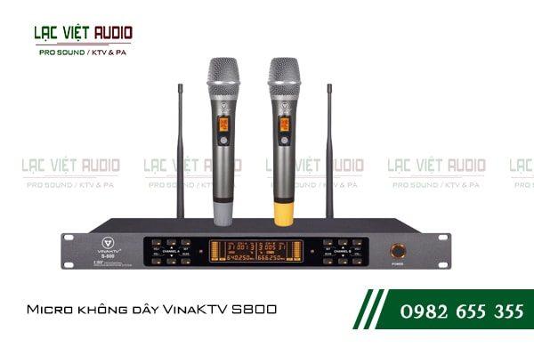 Giới thiệu về sản phẩm Micro không dây VinaKTV S800