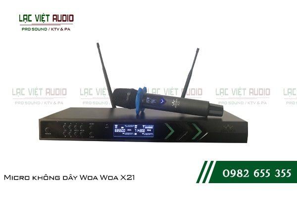 Giới thiệu về sản phẩm Micro không dây Woa Woa X21