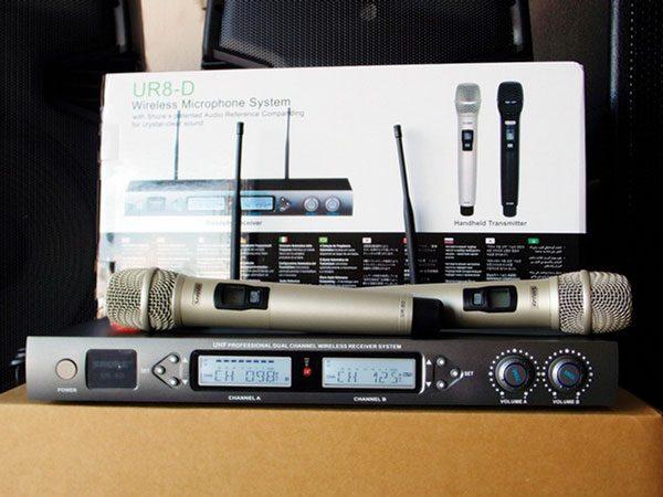 Micro không dây Shure UR8D chất lượng giá rẻ