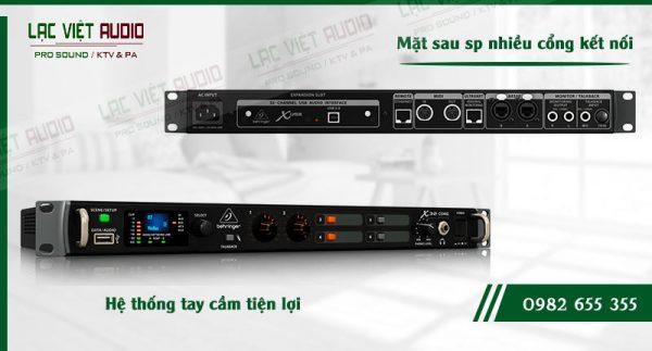 Các đặc điểm độc đáo của sản phẩm Mixer Behringer X32 Core