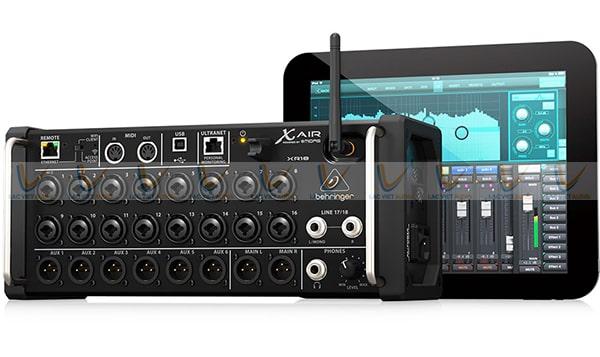 Trọn bộ sản phẩm Mixer digital Behringer X18