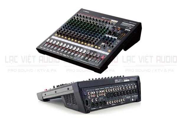Mixer MGP 16X thiết kế đẹp mắt tại Lạc Việt audio