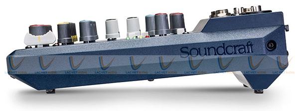 Thiết kế nhỏ gọn của Mixer Soundcraft Notepad 8FX